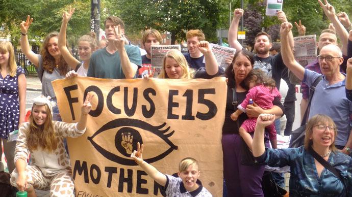 Focus E15 housing activist arrested on suspicion of 'squatting'