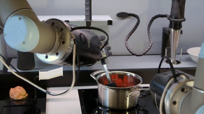 Robo-chef: British tech firm unveils the future of cooking