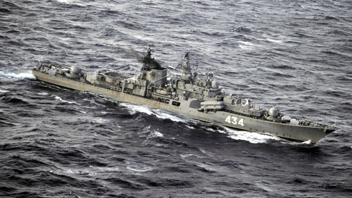 UK tracks Russian warship in English Channel, Russia refutes rumors of exercises