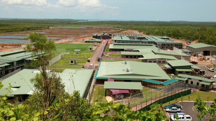 Reports of disturbance in Darwin detention center, Australia, police deployed