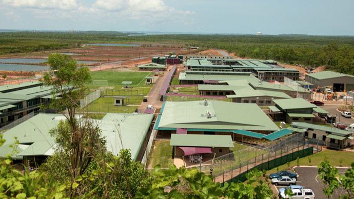 Reports of disturbance in Darwin detention center, Australia, police deployed