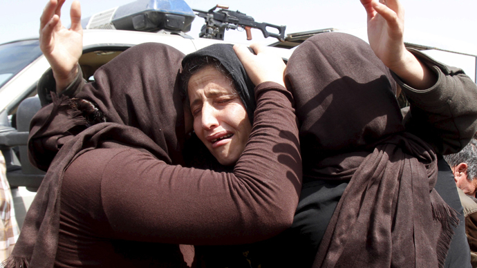 Women and girls recall 'systematic rape' by ISIS militants – HRW