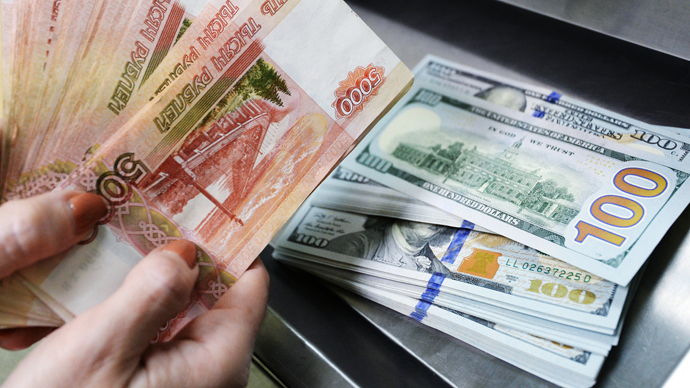 Ruble passes 50 against USD for 1st time since November