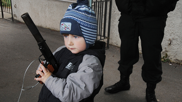 Activists urge ban on realistic toy guns, to prevent America-style tragedies