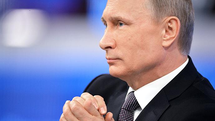 Putin's 2015 Q&A marathon
