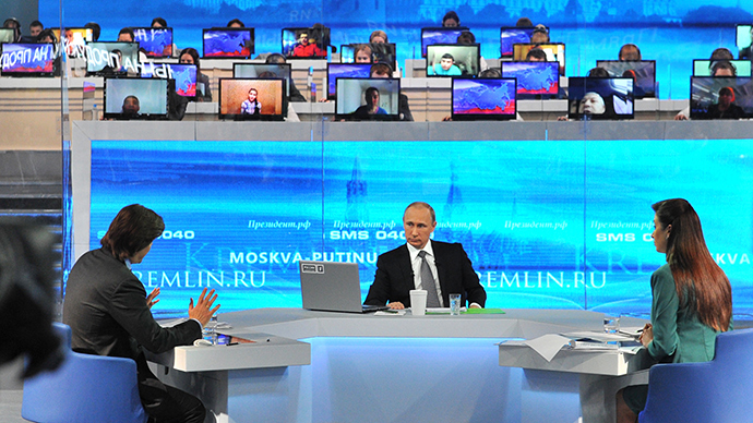 Putin wants neither Russian Empire nor army of clones: Q&A highlights