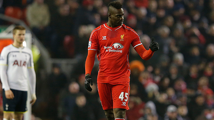 ​Liverpool footballer Mario Balotelli targeted by social media racists 4,000 times this season