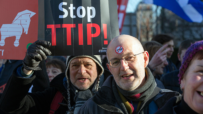 TTIP vs Democracy: London activists to resist controversial EU-US trade deal