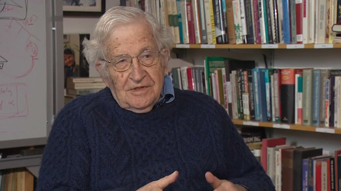 Chomsky: 'International law cannot be enforced against great powers' FULL INTERVIEW
