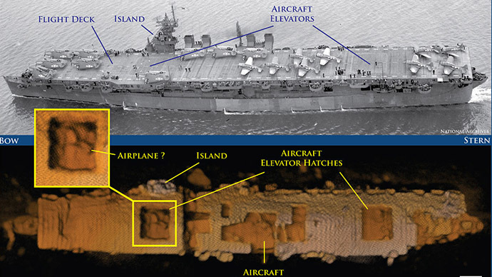 Atomic WWII test ship rediscovered on floor of Pacific Ocean