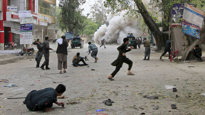 33 killed, 100 injured in Afghanistan blasts, ISIS claims responsibility