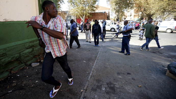 Looting and vandalism in Johannesburg xenophobic violence (VIDEO)