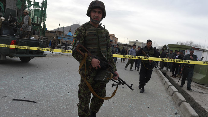 UN probe reportedly finds corruption in Afghan police oversight division