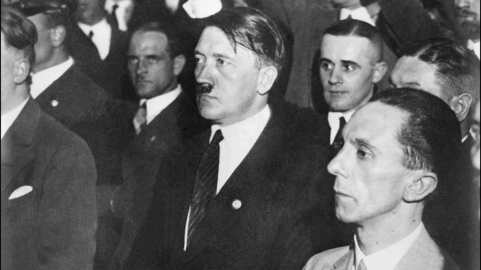 Publisher rejects 'immoral' claim of royalities by Goebbels estate