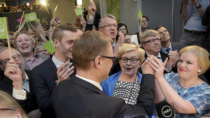 Anti-NATO parties grab top spots in Finland general election