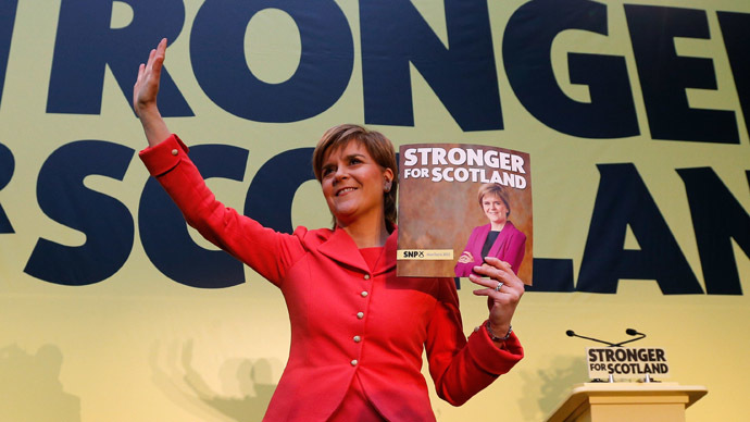 SNP manifesto: End austerity, build a new progressive politics for 21st century Britain
