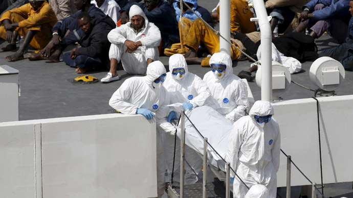 EU under fire over migrant crisis after deadly boat capsize