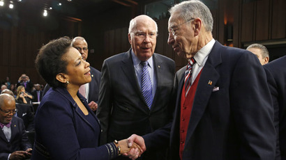 Senate reaches deal on trafficking bill, clears way for vote on Loretta Lynch for AG