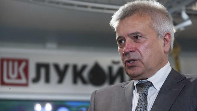 Lukoil eyes return to Iran after sanctions lifted - CEO