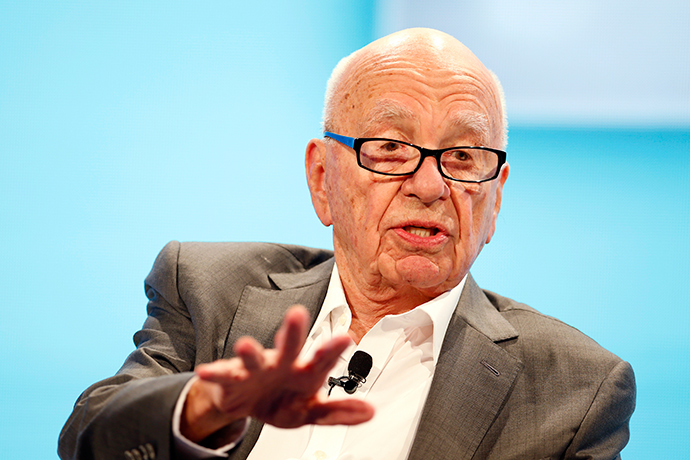 Rupert Murdoch, Executive Chairman News Corp and Chairman and CEO 21st Century Fox (Reuters / Lucy Nicholson)