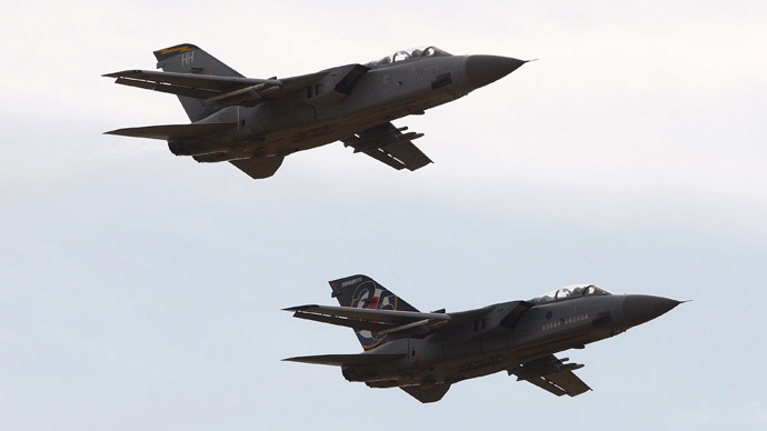 ​Bombed out? British jets striking Iraq running out of ammo, MoD to place new order