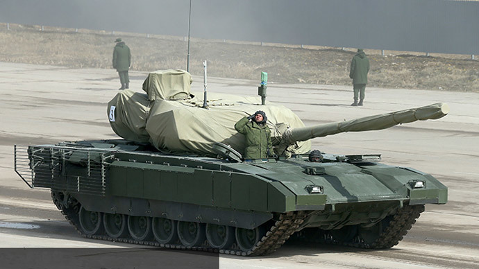 1st PHOTO: Russia's secretive Armata battle tank revealed