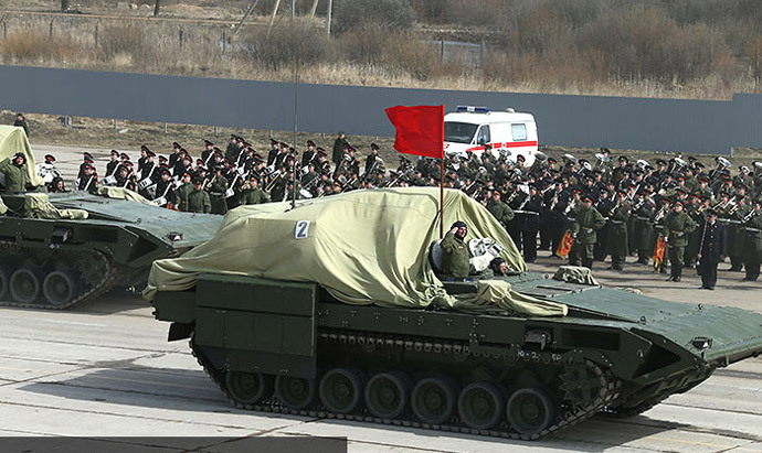 T-15 (Object 149) heavy infantry combat vehicle (image from http://mil.ru)