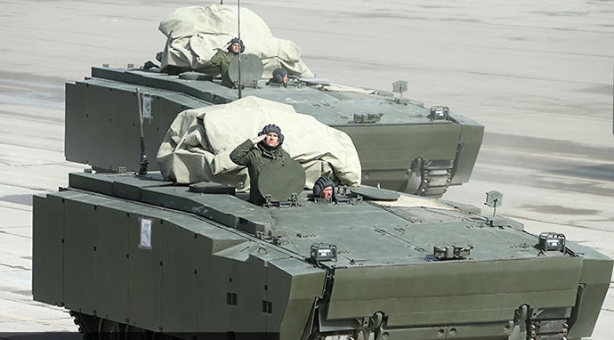 Kurganets-25 armoured personnel carrier (image from http://mil.ru)