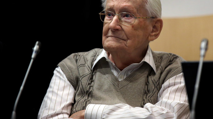 ​'I seek forgiveness': 93yo former Auschwitz 'accountant' stands trial in Germany