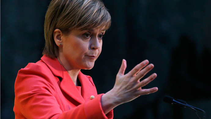 'Most dangerous woman in Britain': Establishment press attack SNP's Sturgeon