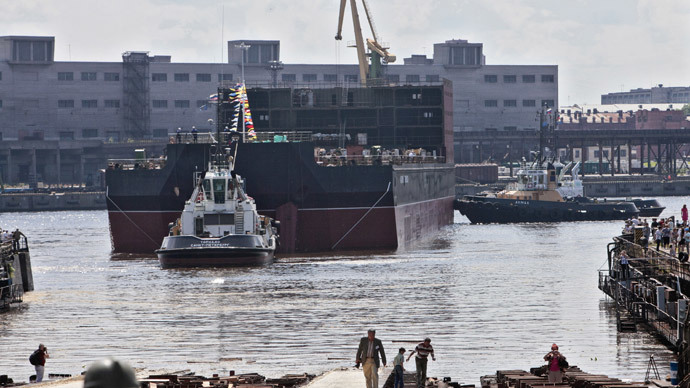 1st mass-produced floating nuclear plant to power Russian Arctic in 2016