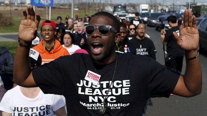 ​'March2Justice' rally arrives in DC seeking to end police brutality