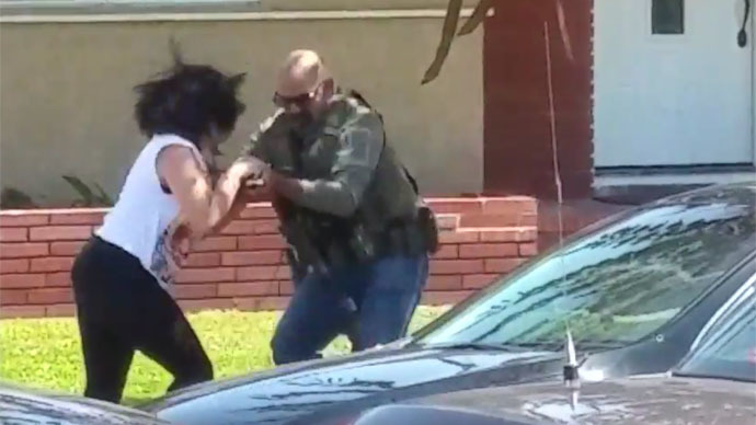 Feds investigating video of US Marshal destroying woman's camera