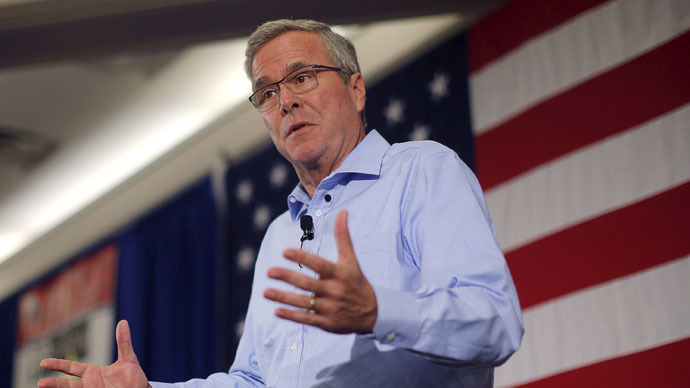 Jeb Bush praises Obama for continuing NSA metadata surveillance