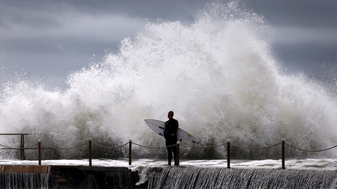 Deadly 'once-in-decade storm' drenches Australia's east coast
