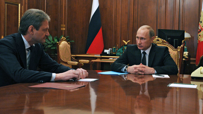 Putin urges to fill Russian market with domestic food quickly