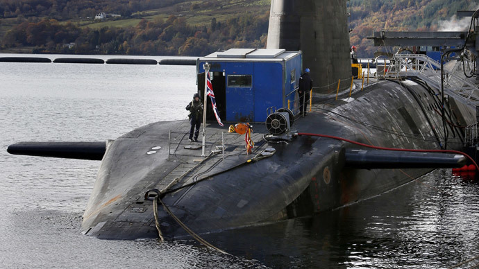 ​Scrap 'irrelevant' Trident nukes, Scottish trade unionists say