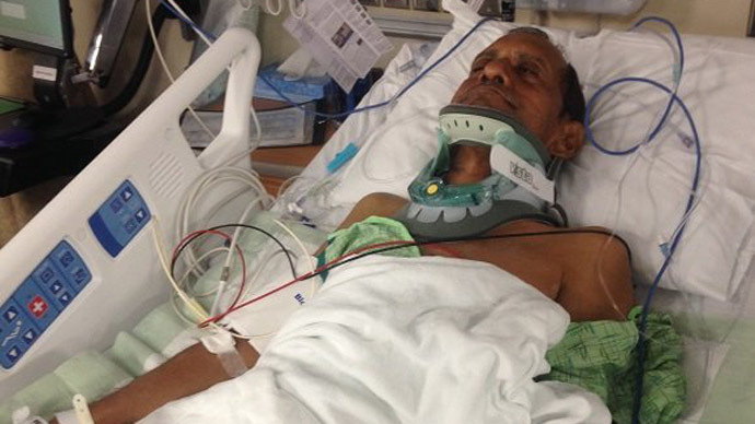 Ex-cop who paralyzed Indian grandfather pleads not guilty