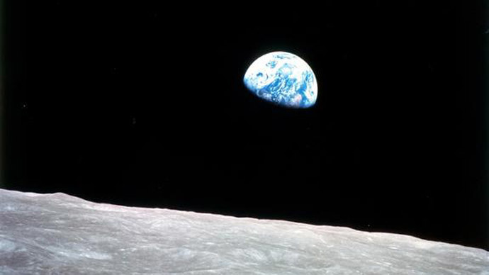 "The ""blue marble"" view of Earth was first captured by astronauts during NASA's Apollo 8 mission on Dec. 24, 1968.(Image by NASA)"