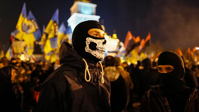 'Ukrainian neo-Nazis switch from theory to practice' – Russian diplomat