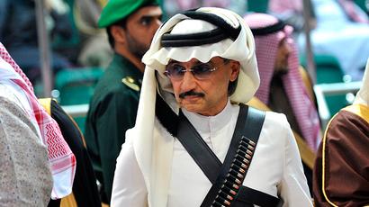 Owner of Saudi Arabia's Kingdom Holding, billionaire Prince Alwaleed bin Talal (Reuters / Fayez Nureldine)