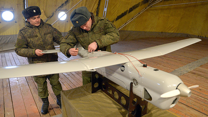 Russia to deploy military drones to monitor Arctic