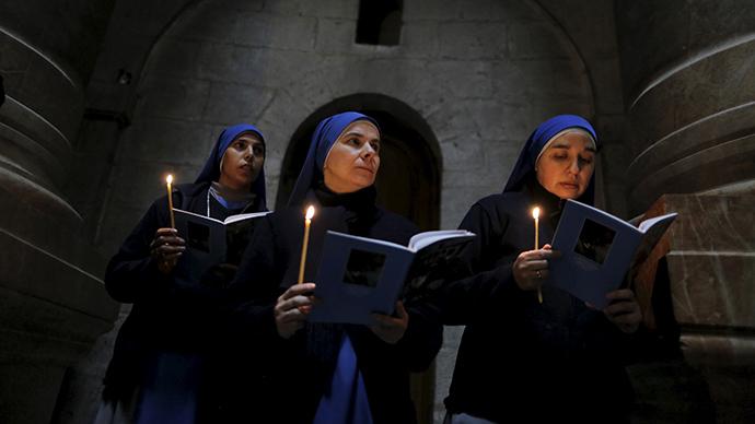 Having nun of it: Growing numbers of British women take up habit
