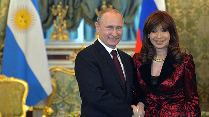 Russia and Argentina seal energy package, $3bn in deals