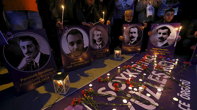 Armenia, Turkey still at odds a century after 1915 massacre