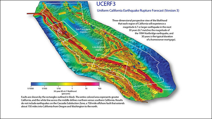 California's 'Big One' could trigger super cycle of destructive quakes – study