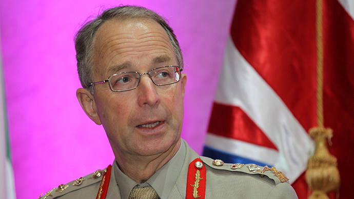 ​Britain's 'dribbling' strategy: Top general blasts anti-ISIS efforts
