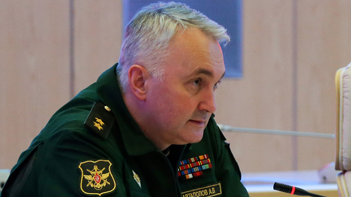 Head of the Main Operations Directorate of the HQ of Russia's Armed Forces Andrey Kartapolov (RIA Novosti / Vadim Savitskii)