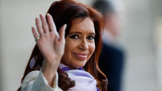 Argentine President Cristina Fernández de Kirchner talks exclusively to RT