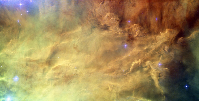 Hubble reveals heart of Lagoon Nebula, Image release date September 22, 2010. (Flickr/NASA, ESA)